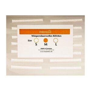 Валики для завивки ресниц, размер S, 16 шт. Intensive