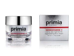 Восстанавливающий крем для лица Dermostamine+Regenerating Face Serum, 50 мл. Primia Cosmetici
