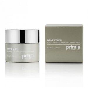 Осветляющий крем SPF 20, 50 мл. Primia Cosmetici