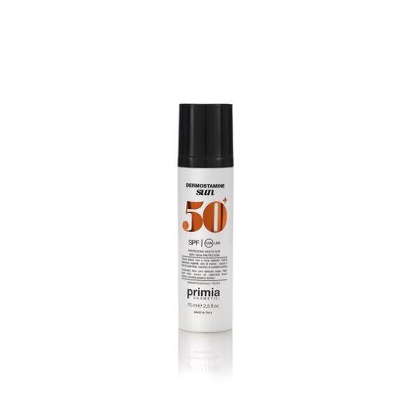Солнцезащитный крем для лица и деликатных зон SPF 50+, 75 мл. Primia Cosmetici