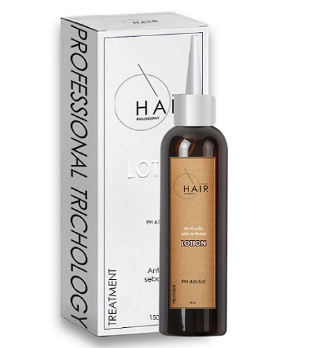 Корректирующий лосьон для жирных волос Anti-Oily Seborrheic Lotion, 150 мл. Professional Trichology