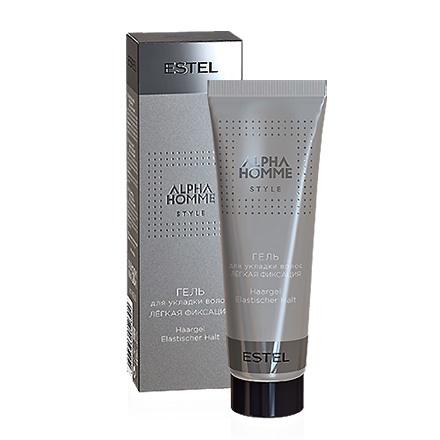 Гель для укладки волос легкая фиксация ESTEL ALPHA HOMME, 50 мл.