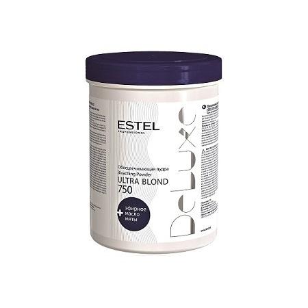 Обесцвечивающая пудра Ultra Blond De Luxe, 750 гр. ESTEL