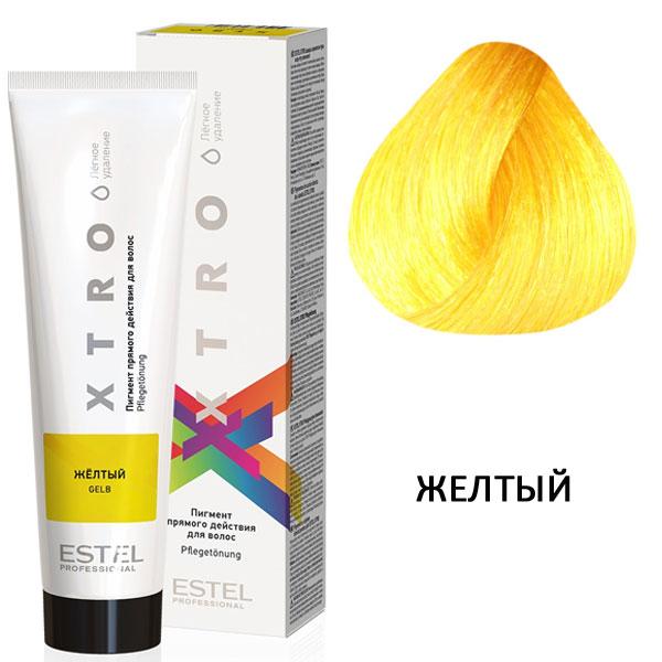 Estel Xtro пигмент прямого действия/жёлтый 100 мл
