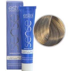 Краска для волос без аммиака Sense De Luxe 8.1 Светло-русый пепельный