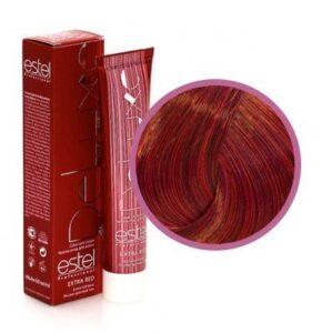 Краска для волос Extra Red Estel De Luxe 66.54 Темно-русый красно-медный