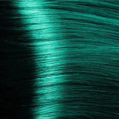 Крем-краска Hyaluronic, изумруд, Kapous