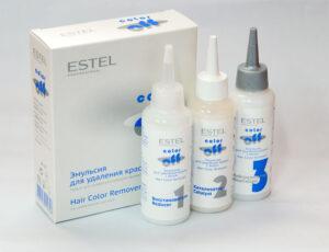 Смывка для волос Estel color off